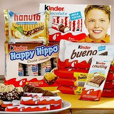 Kinder Schokolade ich liebe es...lecker