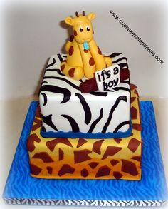 Safari Giraffe Cake