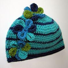 Free Crochet Pattern. Ravelry: Viola! Child's Hat pattern by Jill Bujold