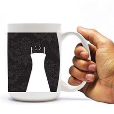 "Wedding Themed 15oz Coffee Mug - ""Bride"" - Black and White Silhouette Design VictoryStore http://www.amazon.com/dp/B00TU7KMW0/ref=cm_sw_r_pi_dp_PiGWvb0R6H8SR"