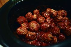 Crock-Pot Cocktail Meatballs - From Valerie's Kitchen-5
