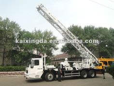 Multi-functional Truck mounted water well drilling rigs &drilling machine(KXD350W)