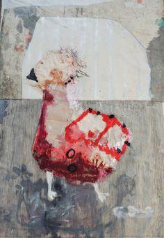"Saatchi Art Artist: Ismael Rodriguez; Acrylic 2015 Painting ""pichon de dodo"""