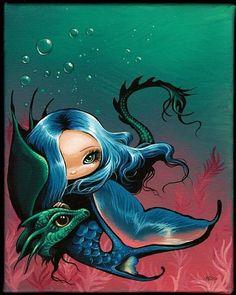 Art: Swim With Me by Artist Nico Niemi