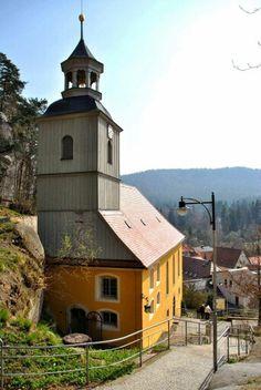 Kirche am Berg Oybin