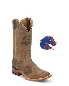Men's Boise State Broncos Branded Boots: http://www.countryoutfitter.com/products/30089-mens-boise-state-broncos-branded-boots