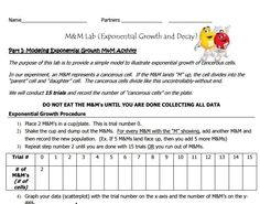 Exponential Growth And Decay Worksheet Algebra 1 Answers ...