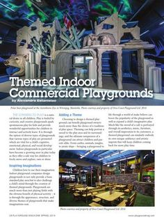 Theming your indoor playgrounds? Read in Playground Magazine what the best reasons are to theme your playground! #indoorplayground #theming