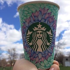 Art by hakunamatata287. #WhiteCupContest  aka- my starbucks cup