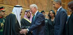 Jan 28, 2015 STEPHEN CROWLEY/THE NEW YORK TIMES Paying Respects to the New Saudi King James A. Baker III, Condoleezza Rice and President Obama traveled to Riyadh. Page A8.