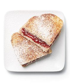 Raspberry Panini Score bonus points by using a heart-shaped cookie ...