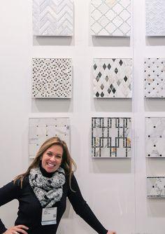 adorno's Best in Show: 2015 AD Home Design in NYC | Adorno Celebrity interior designer Kelli Ellis debuting her line for Tilebar Read More at: http://www.adornomag.com/Articles/2015-03-22-adornos-Best-in-Show-2015-AD-Home-Design-in-NYC