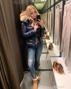 Moncler, White Face Mask, Puffy Jacket, Down Coat, Sexy Outfits, Winter Outfits, Winter Fashion, Jackets For Women, Winter Jackets