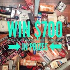 Win a MASSIVE cosmetic giveaway over $AUD700 ^_^ http://www.pintalabios.info/en/fashion-giveaways/view/en/2575 #International #Cosmetic #bbloggers #Giweaway