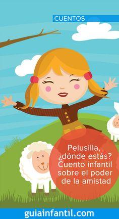 Este cuento hará reflexionar a tu hijo. No te pierdas la historia de Marieta y sus ovejitas #cuentosinfantiles #cuentos #GuíaInfantil Conte, Speech And Language, Kids Education, Social Skills, Kids And Parenting, Montessori, Childrens Books, Books To Read, Leo