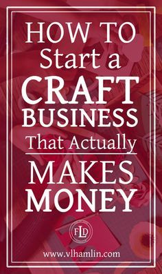 Ever wondered how to start a craft business? This post is for you – it's packed full of tips and tricks to help you start a craft business today! Do you love to make crafts? Could you spend hours u… Etsy Business, Craft Business, Home Based Business, Business Tips, Finance Business, Online Business, Diy Business Ideas, Business Opportunities, Business Inspiration