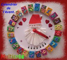 calendrier de l'avent:blog de multicrea