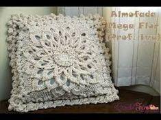 Resultado de imagen para capas de almofadas de croche com graficos