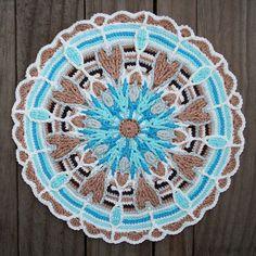 1278 Besten Mandalas Bilder Auf Pinterest Crochet Mandala Crochet