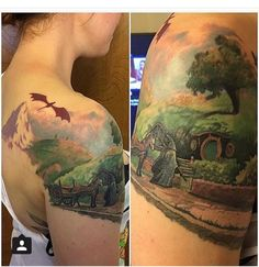 10 Lord of the Rings Tattoos - Reading, Writing, Booking