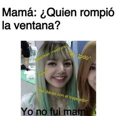 Read 1 from the story memes de blackpink by Yumiko_Kun (Patatas fritas) with reads. Memes Blackpink, New Memes, Funny Memes, Funny Spanish Memes, Spanish Humor, Blackpink Funny, Lisa Blackpink Wallpaper, Nct Taeyong, Blackpink Lisa