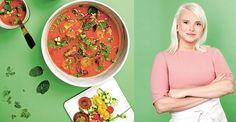 Årets mästerkock Klara Lind har en passion för sydamerikans mat. Här är hennes underbara recept på vårens absolut godaste gazpacho.