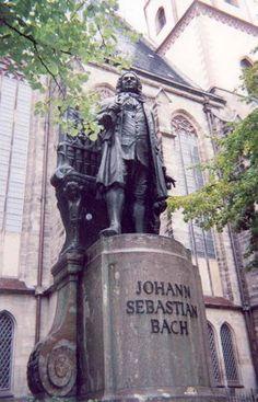 Leipzig, Thomaskirche where Bach was organist