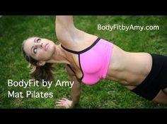 #5 Pilates core full body workout