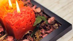 DIY Kerzen Selber Machen mit Eis für den Herbst - YouTube