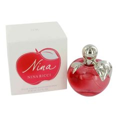 Nina Perfume by Nina Ricci, 1.6 oz Eau De Toilette Spray for Women -  Nina Perfume by Nina Ricci 1.6 oz Eau De Toilette Spray for Women. Launched By The Design House Of Nina Ricci In 1987, Nina Is Classified As A Sharp, Gentle, Floral Fragrance. This Feminine Scent Possesses A Blend Of Florals, Fruits And Woodsy, Green Notes. A Rich Aroma. Buy Nina Perfume by...