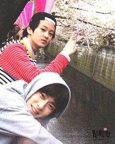 Mark and Jaehyun...sm rookies..<3 luv u both