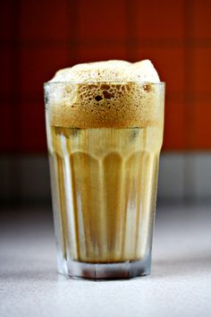 Café Frappé is a beloved drink of the Greeks. YEP.. it sure is.. we take all day to drink it. :) You have to visit Greece to see what I mean :)