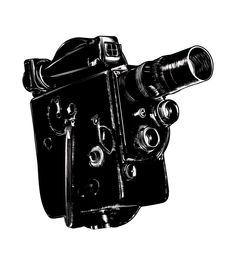 GoPro - whoa, totally can't wait for this. It's like no video camera ever and so awesome for skiing, biking. Antique Cameras, Old Cameras, Vintage Cameras, Vintage Video Camera, Retro Camera, Old Movies, Vintage Movies, Cardboard Camera, Movie Camera
