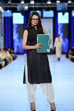 In this post, we will represent latest collection by Adnan Pardesy at PFDC Sunsilk Fashion Week This collection is ideal for working women. Salwar Designs, Kurti Designs Party Wear, Indian Dresses, Indian Outfits, Indian Clothes, Casual Indian Fashion, Preety Girls, Modest Fashion Hijab, Stylish Girls Photos