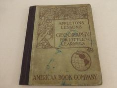 Appletons' Lessons in Geography for Little Learners by papertales, $7.95