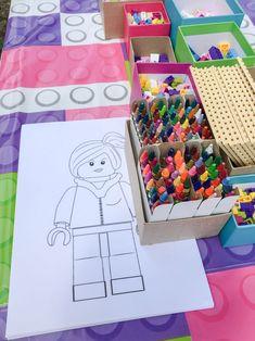 Lego Friends Birthday, Lego Friends Party, Superhero Birthday Cake, Lego Birthday Party, 6th Birthday Parties, Girl Birthday, Girl Parties, Cake Birthday, Birthday Ideas
