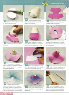 Best 12 fofucha by felicia Handmade Crafts, Diy And Crafts, Arts And Crafts, Box Surprise, Fimo Clay, Clay Dolls, Love Craft, Foam Crafts, Fabric Dolls