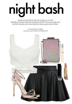 """""""Night Bash"""" by thatgirlwholovesit on Polyvore featuring Barneys New York, Boohoo, Chanel, Chloé and Louis Vuitton"""