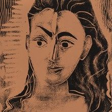 Pablo Picasso, Portrait de Jacqueline, Farblinolschnitt, 1962 12.730.00 Euro .