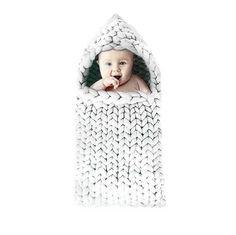 Warm Crochet Wool Wrap