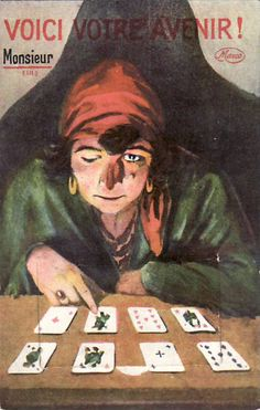 FOLD OUT CLAIRVOYANT Fortune-teller