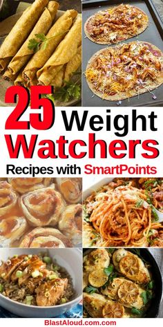 Delicious Weight Watchers Recipes With SmartPoints Looking for some easy Weight Watchers recipes with Smartpoints? Then we've got you! Weight Watchers Dinner, Chicken and Desserts with points.Looking for some easy Weight Watchers recipes with Smartpoints? Weight Watcher Dinners, Plats Weight Watchers, Weight Watchers Meal Plans, Weigh Watchers, Weight Watchers Diet, Weight Loss Meals, Recipes For Weight Loss, Weight Watcher Breakfast, Weight Watcher Recipes
