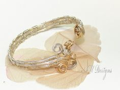 wire weaving jewelry | ... -Filled Wire Woven Bracelet | AMDesignsbyAngela - Jewelry on ArtFire