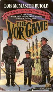 The Vor Game Authors: Lois McMaster Bujold Year: Publisher: Baen Cover: Tom Kidd Fantasy Book Covers, Book Cover Art, Fantasy Books, Book Art, Sci Fi Books, Comic Books, Elizabeth Moon, Lois Mcmaster Bujold, Award Winning Books