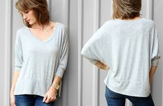 FREE SHIPPING- Slouchy Sunday Relaxed Tee! 54% off at Groopdealz