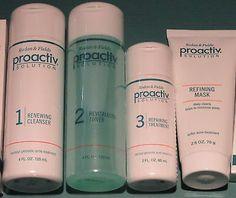 Skin Care Proactiv 4pc 60 day Kit w/2.5oz Refining Mask