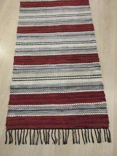 Rug Patterns, Rag Rugs, Hand Weaving, Crochet, Inspiration, Tapestry Loom, Farmhouse Rugs, Table Runners, Loom