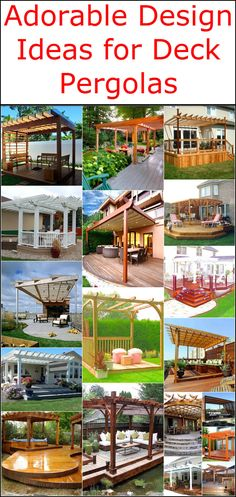 If you want to give character and beauty to your patio then consider installing a deck pergola or gazebo in your garden. You will surely love to enjoy the beauty of nature in a nice and comfortable environment. Pergola is not are not just a purposeless structure standing in your garden, but they have many advantages. Pergolas ought to provide you a nice and shady place to sit in your garden and relax, they also increase the aesthetic value of your patio and gives you an opportunity to get…