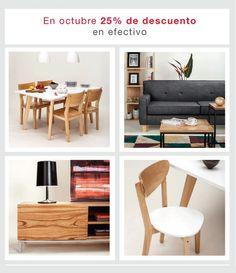 ¡Última semana! #Sillas, #mesas, #sillones, #bibliotecas y muchos #muebles más para tu #casa, 25% de descuento en efectivo. Visitá www.unimate.com.ar