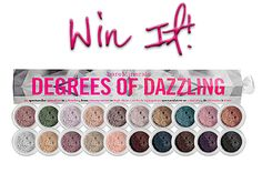 Win It: bareMinerals 'Degrees of Dazzling' Eyeshadow Collection Giveaway (ends 12/12/13)